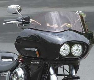 Harley Dyna with fairing | Wedge Fairing