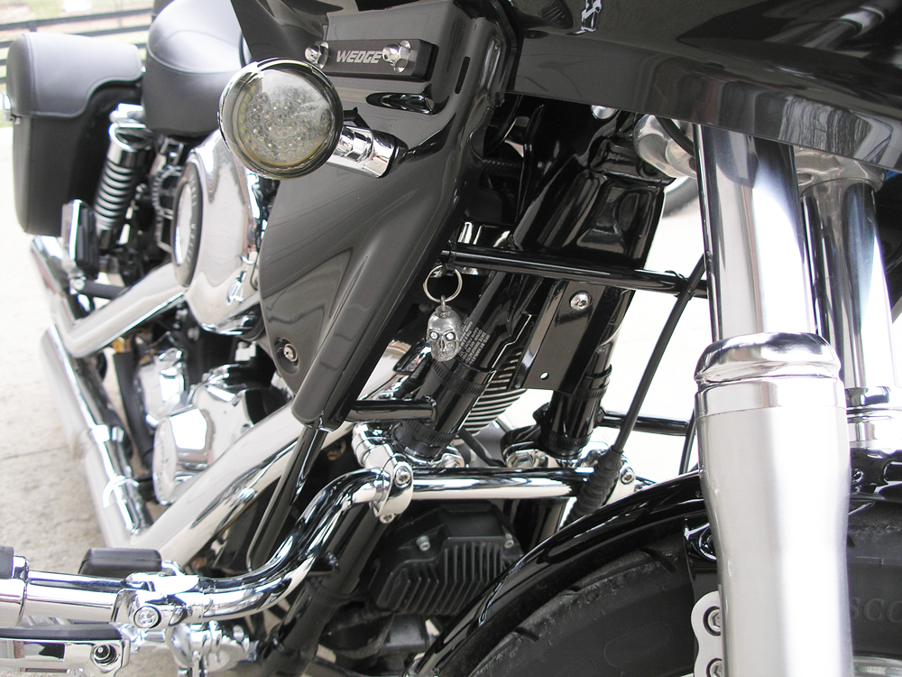 dyna super glide fairing mounting frame and lowers
