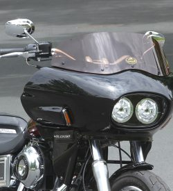dyna lowrider with fairing | Wedge Fairing
