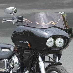 dyna lowrider with fairing   Wedge Fairing