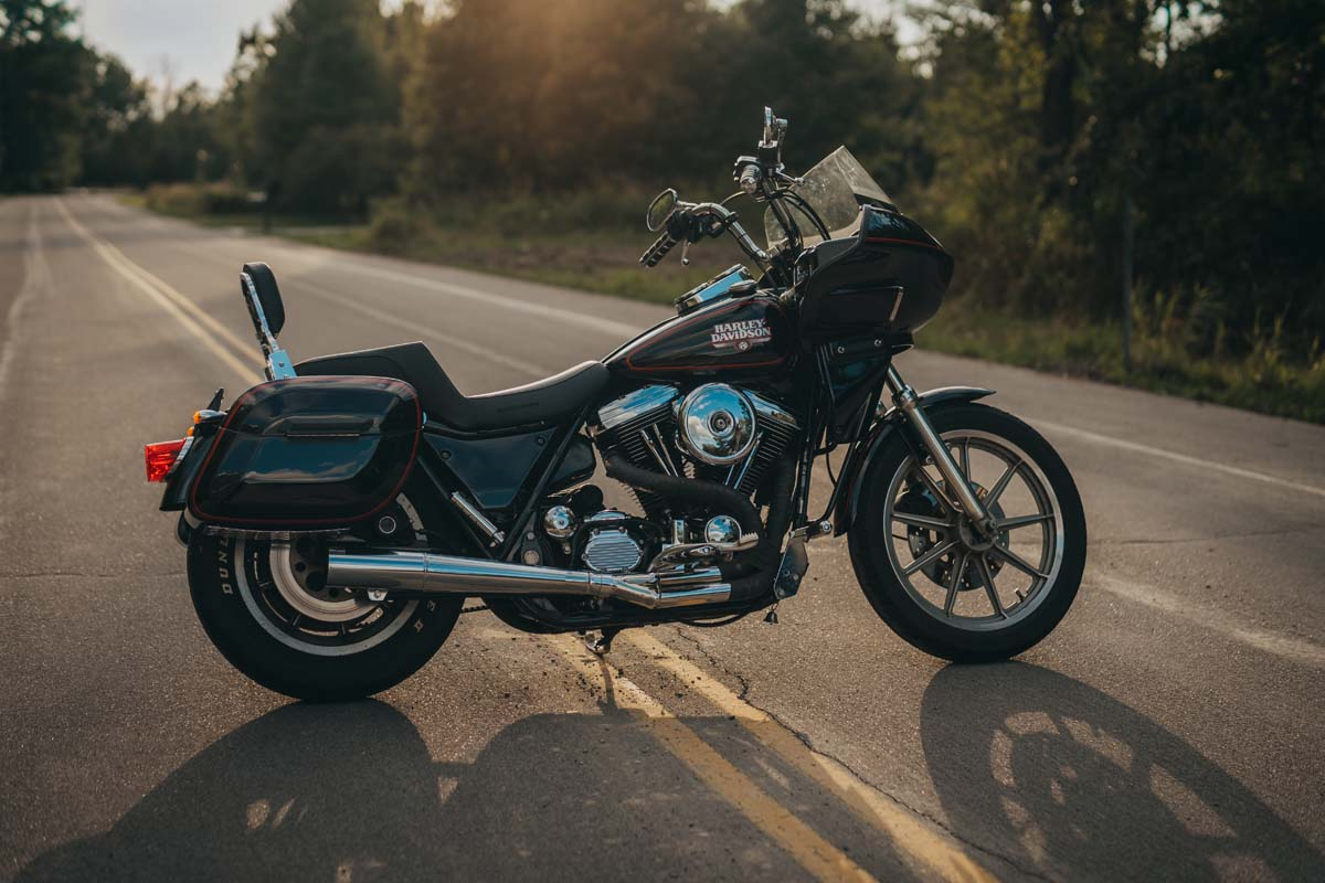 Harley FXR fairing