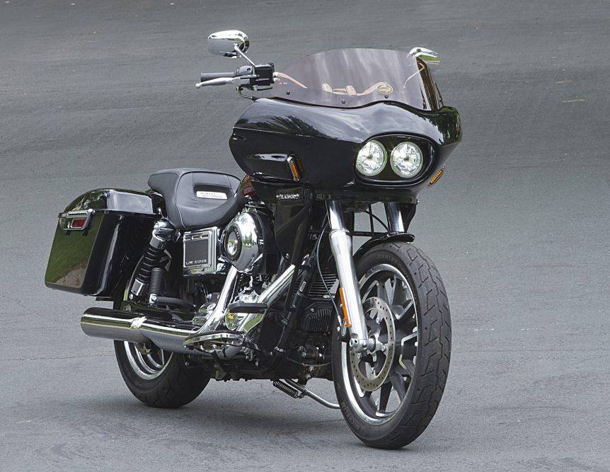 Harley Dyna dual headlight fairing