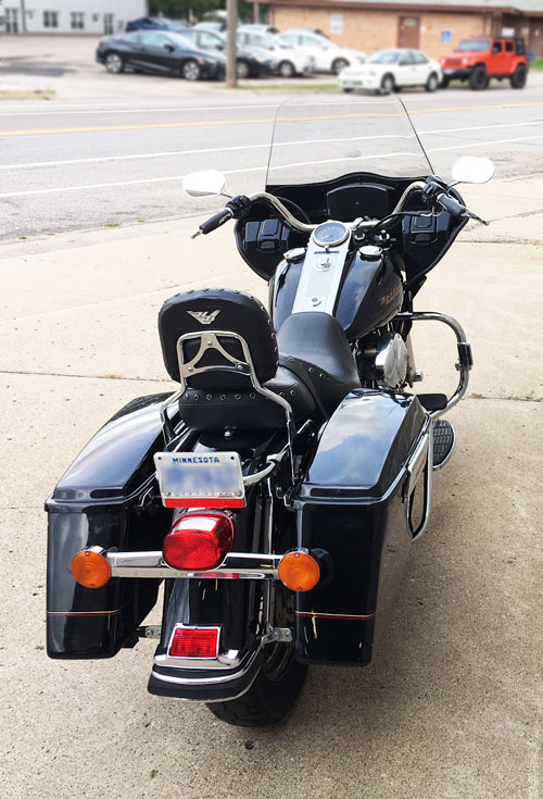 roadking with fairing from behind
