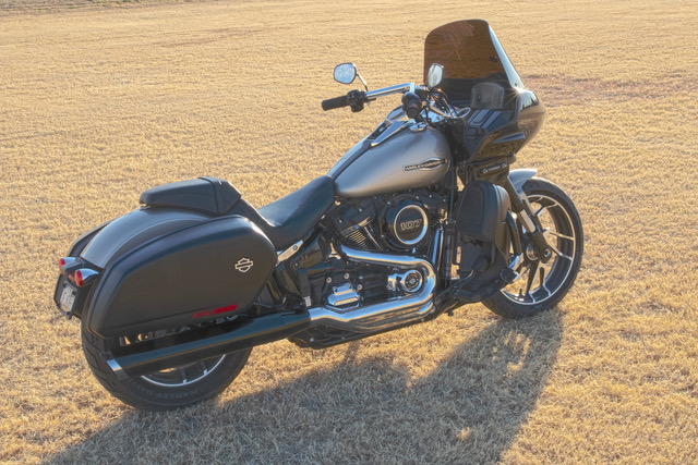 Softail Sport Glide with fairing