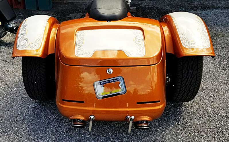 Freewheeler rear view