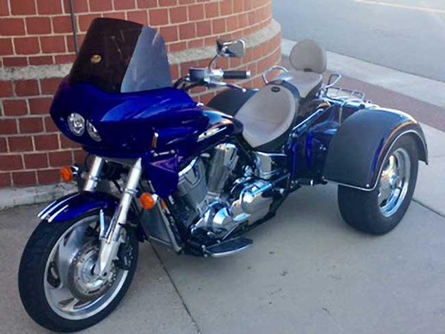 Honda VTX 1800 Trike Fairing