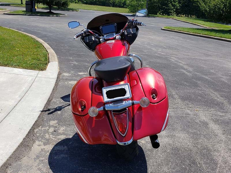 Honda VT 1300 with fairing from behind