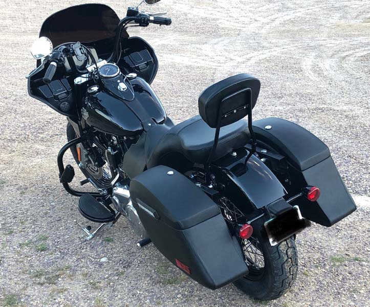 Softail Slim with Touring Fairing