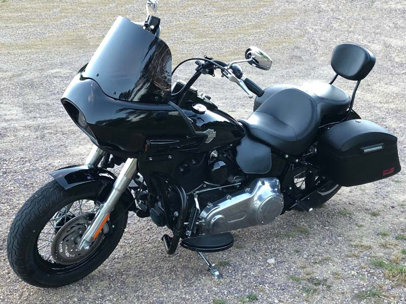 Harley Softail Slim with Touring Style Fairing